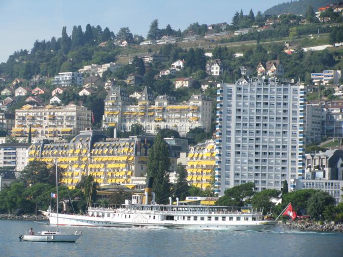 Montreux - houses