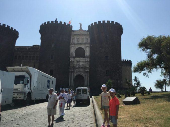 Napoli - nuovo castle