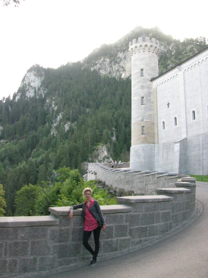 Neuschwanstein - entrance