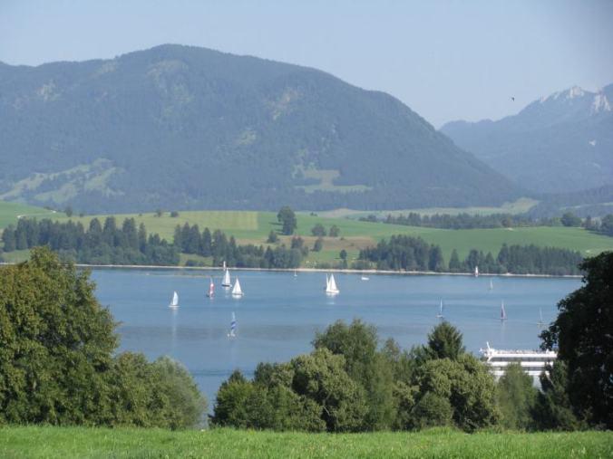 Neuschwanstein - lake
