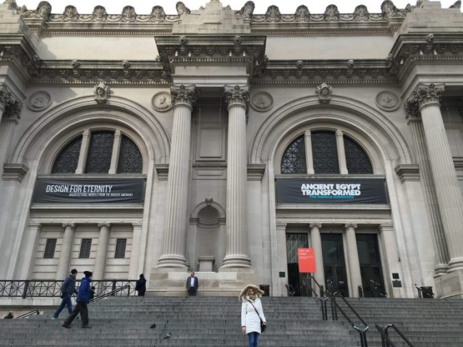 New York MET - entry
