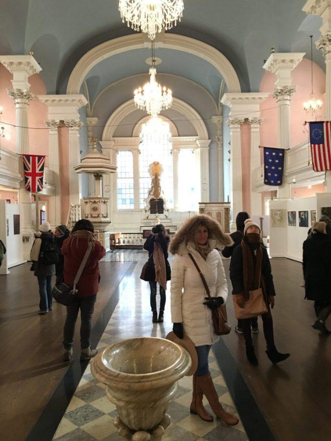 New York - st paul chapel