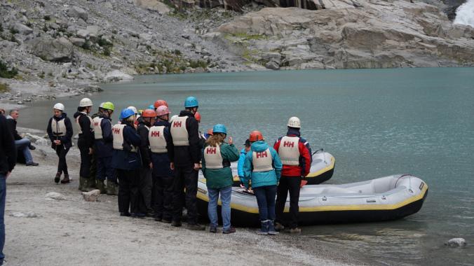 Norvegia - briksdal glacier rafting