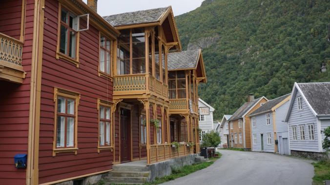 Norvegia - laerdal houses