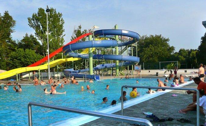Nyiregyhaza Aquarius - outdoor slides