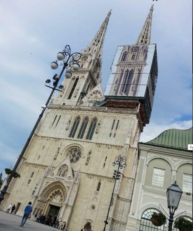 Opatija - zagreb church