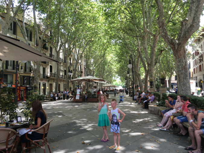 Palma de Mallorca - la rambla