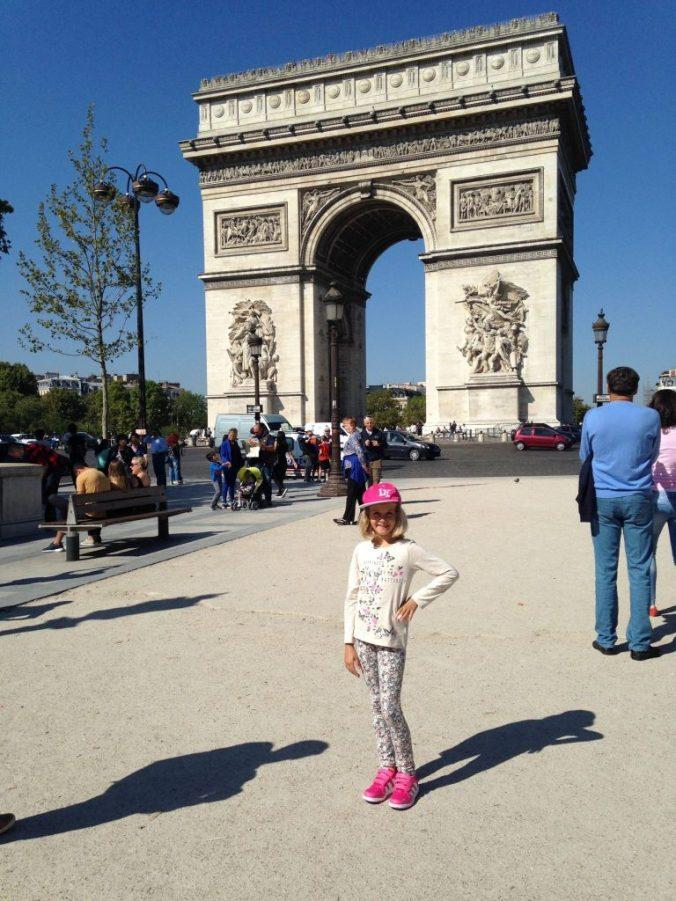 Paris - arcul de triumf