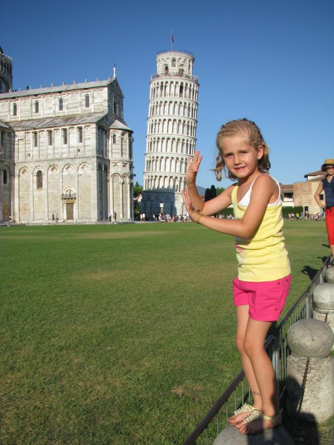 Pisa - tower view