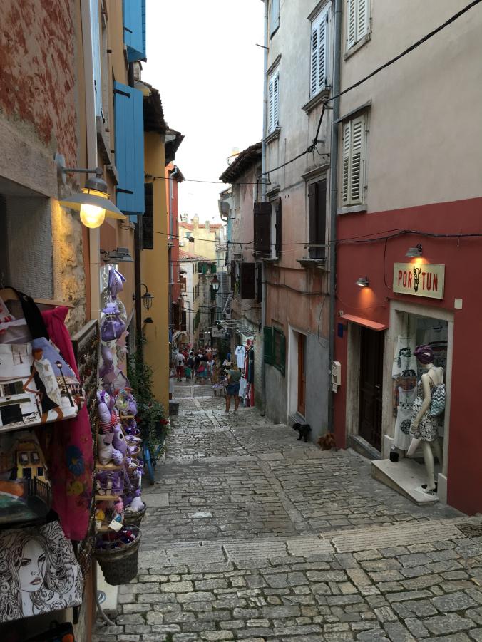 Rovinj - old town street