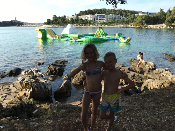Rovinj - water playground