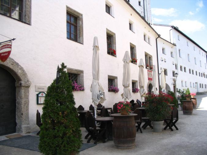 Salzburg - castle bar