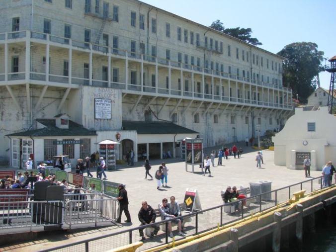 San Francisco - alcatraz arrival