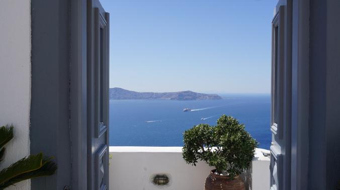 Santorini - fira view