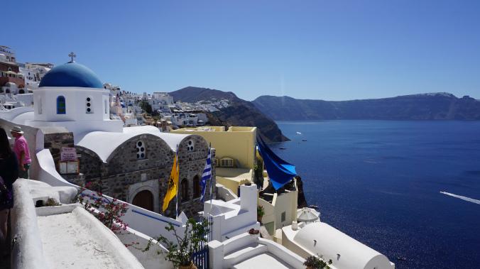 Santorini - oia 1
