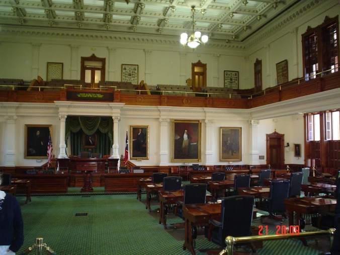 Texas - capitol visit