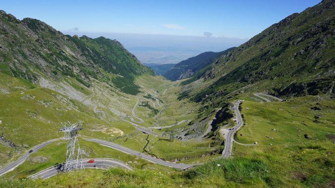 Transfagarasan - roads