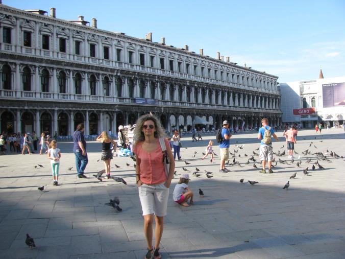 Venetia - san marco pigeons