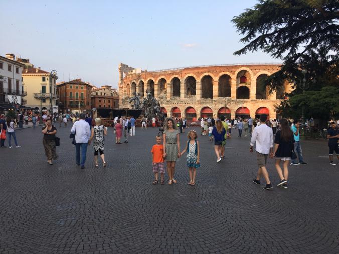 Verona - central sqaure