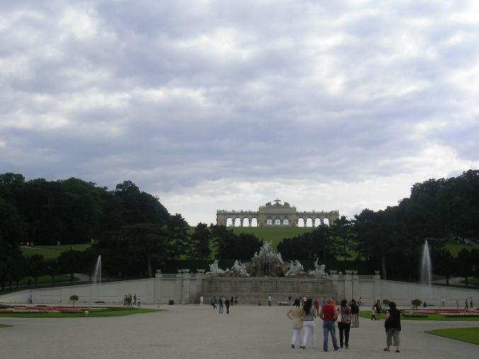 Viena - schonbrunn gloriette