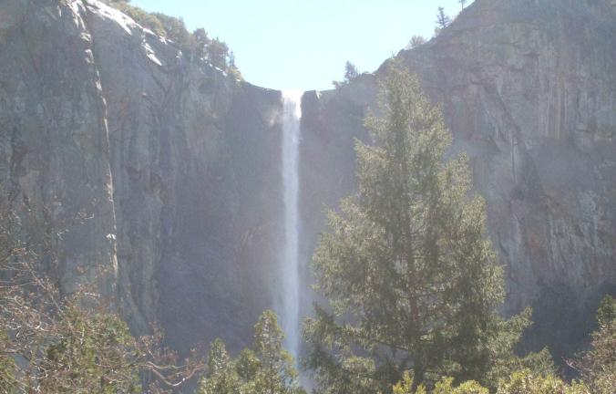 Yosemite - waterfall 1