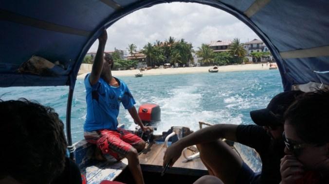 Zanzibar - prison island boat