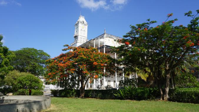 Zanzibar - stone town downtown