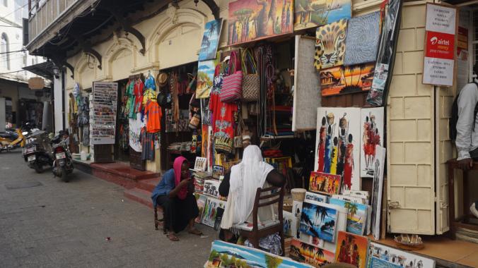 Zanzibar - stone town shop