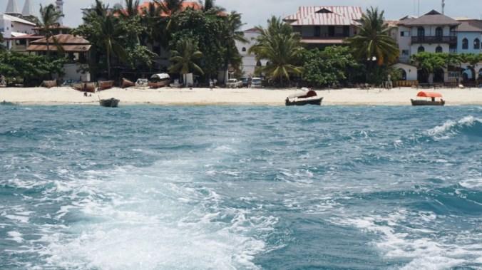 Zanzibar - stone town shore