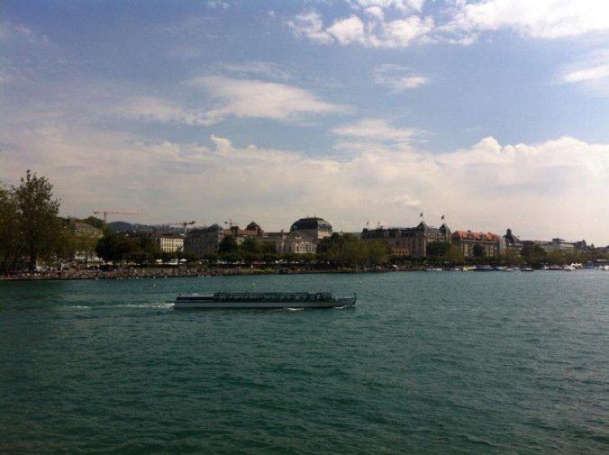 Zurich - boat