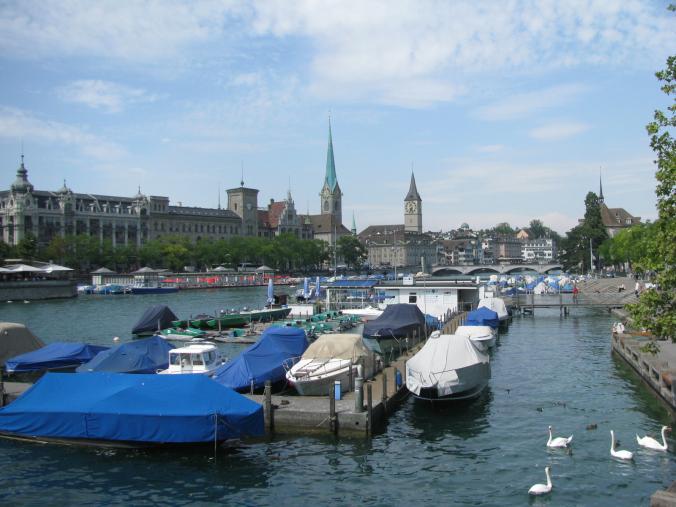 Zurich - fraumunster