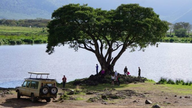 ngorongoro - lake