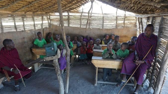 ngorongoro - masai school