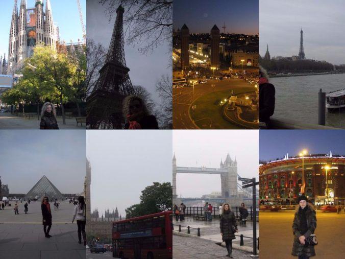 city break - collage