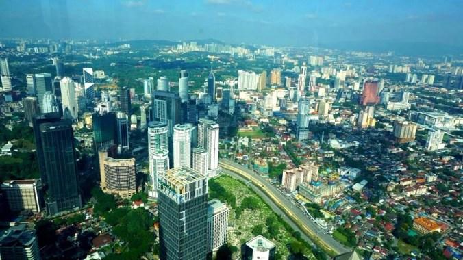 Kuala Lumpur - panoramic view