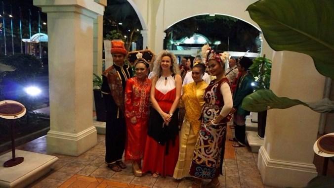 Kuala Lumpur - traditional dinner