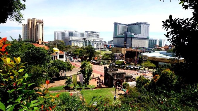 Malacca - modern buildings