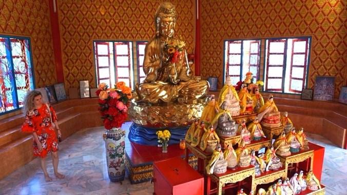Penang - burmese temple1