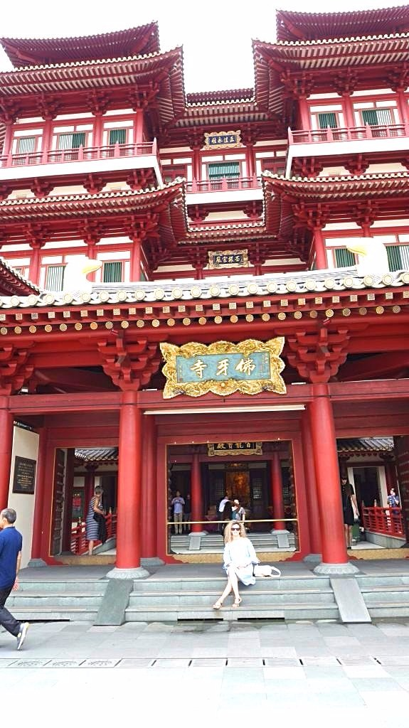 Singapore - Buddha temple1