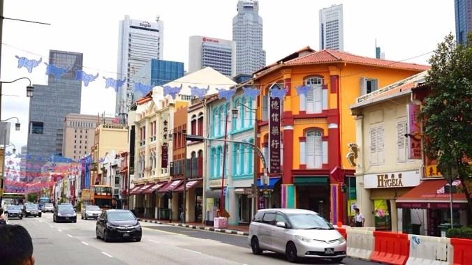 Singapore - Chinatown street