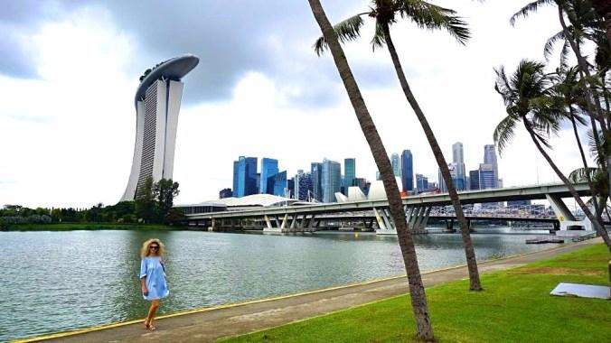Singapore - Marina Bay view1