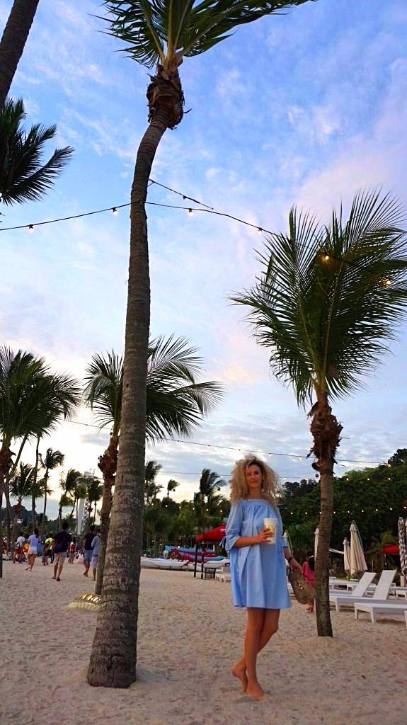 Singapore - Sentosa beach1