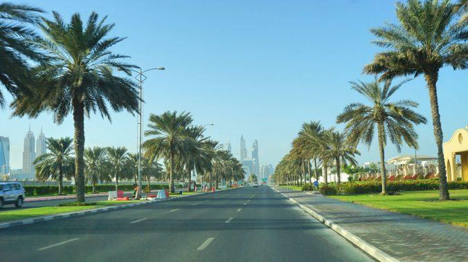 Dubai - road