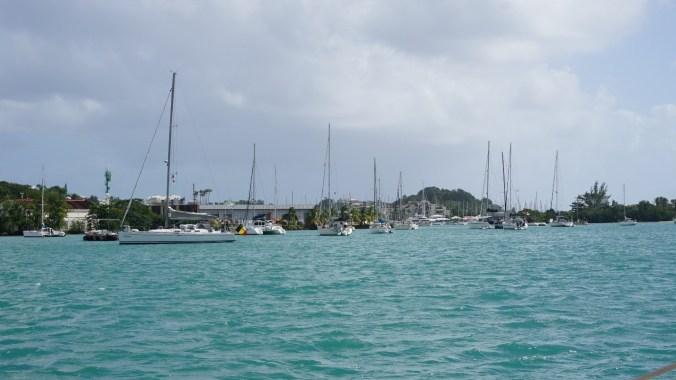 Guadeloupe - catamaran1
