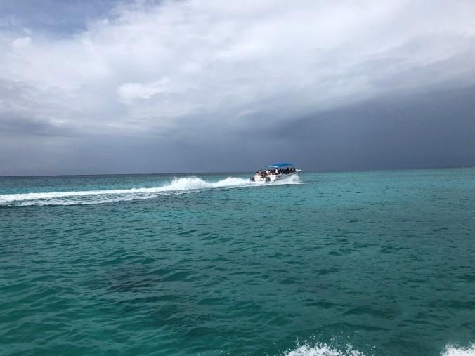 Republica Dominicana - speed boat 1