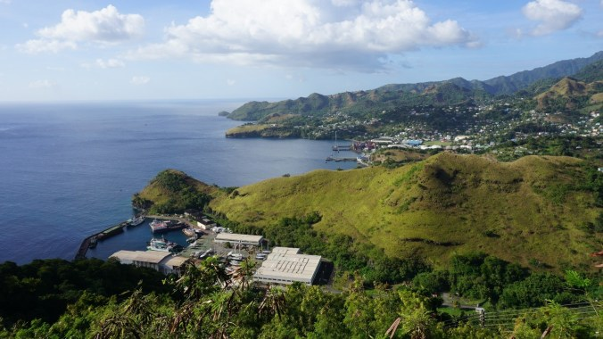 Saint Vincent si the Grenadines - fort charlotte view1