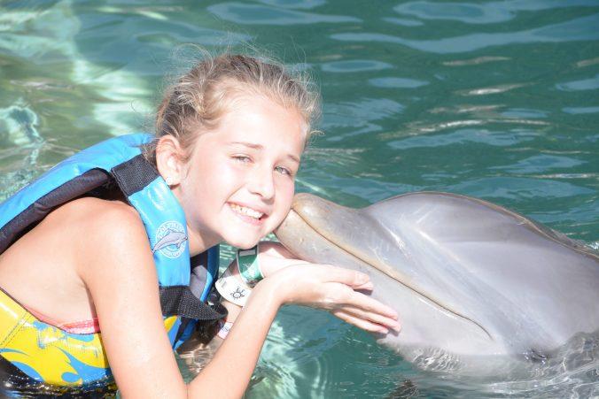 St. Kitts si Nevis - dolphin kiss