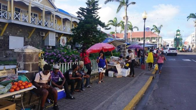 St. Kitts si Nevis - street