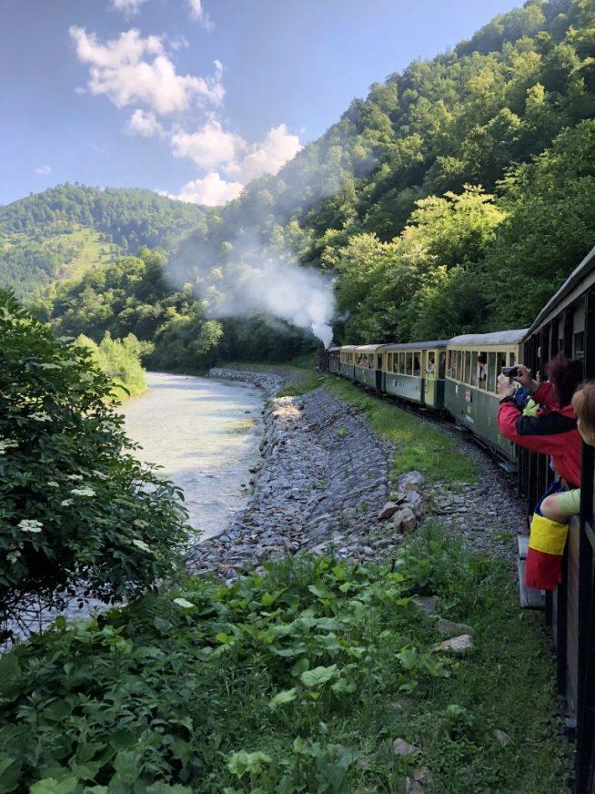 Mocanita - train1