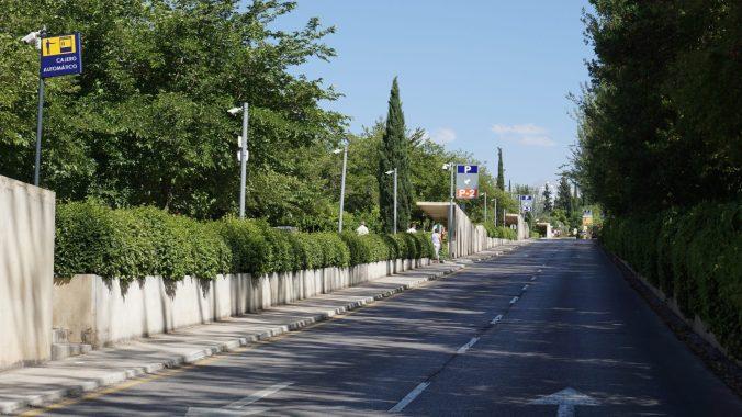 Alhambra- parking